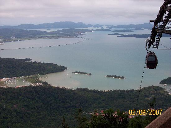Langkawi Sky Cab: View 1