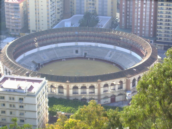 Málaga, España: plaza de toros