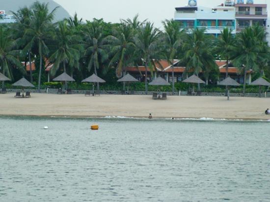 Evason Ana Mandara Nha Trang: View from the bay looking at the hotel