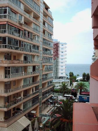 Apartamentos Alta: vista dal balcone