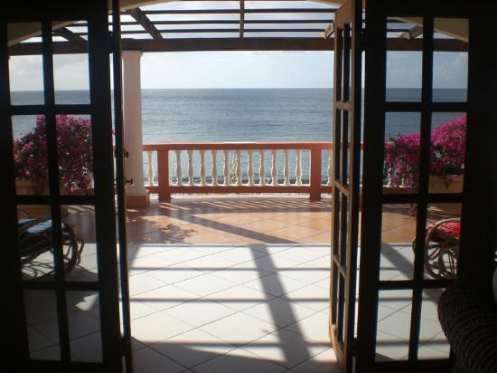 Mirage Tobago: the terrace from our room :)