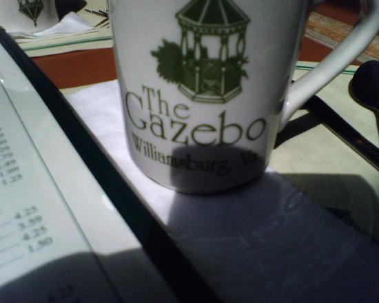 Gazebo House of Pancakes: the coffee cup