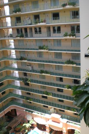 Embassy Suites by Hilton Fort Lauderdale 17th Street: looking across the way at the other rooms