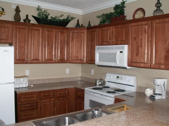 Ocean Villa Condos Kitchen At