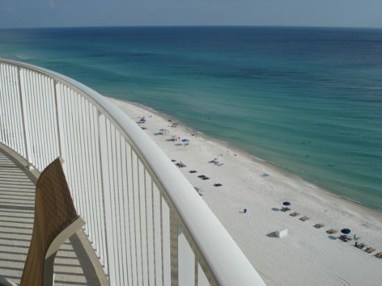 Ocean Villa Condos: view from balcony