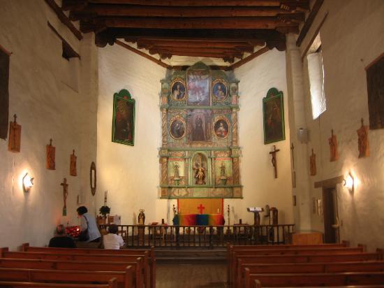San Miguel Chapel : Interior of San Miguel