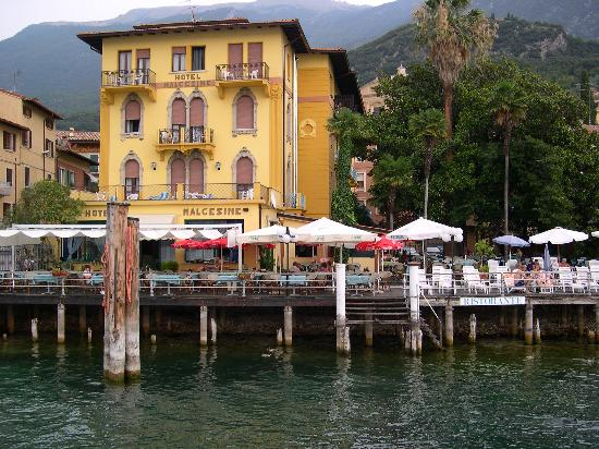 Hotel Malcesine from lakeside