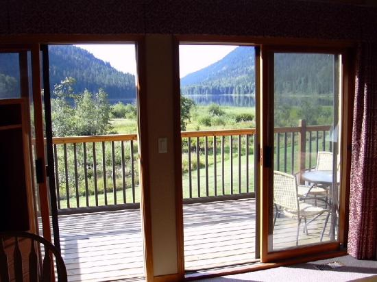 Alpine Meadows Resort: The view from our lodge