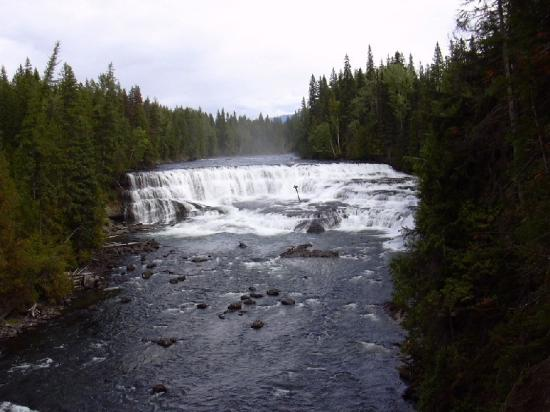 Alpine Meadows Resort: Dawson Falls Wells Gray Park