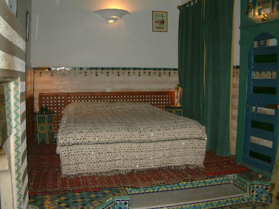 Riad Moucharabieh: The sleeping area