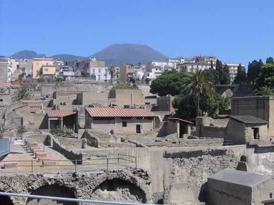 Ercolano, Italië: Mt. Vesuvius/ercolani