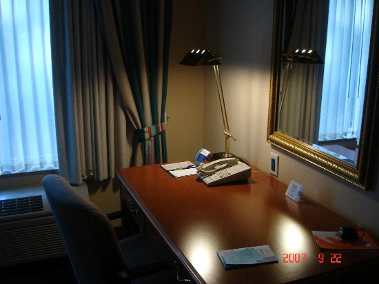 Hilton Garden Inn Minneapolis Eden Prairie: desk