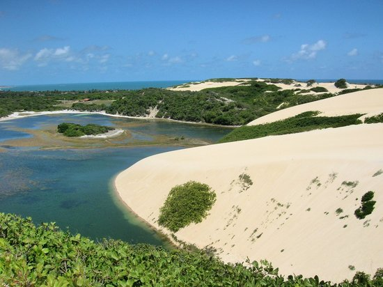 Tres Coqueiros: Sand dunes in Jenipabu