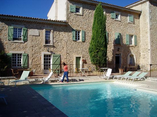 Relais de Roquefure : Rear of Hotel (1)