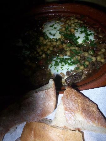 Auberge du Sud: Tasty dinner