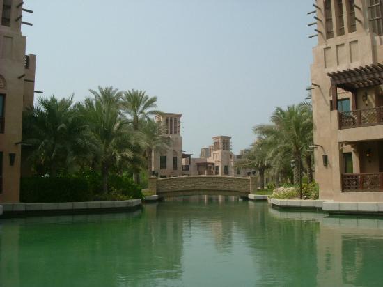 Jumeirah Mina A'Salam: View from Abra (water taxi)
