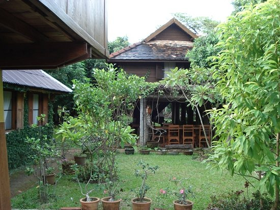 Baan Hom Samunphrai: ambiance zen des petites maisons