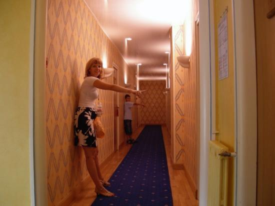 le couloir du 1er tage picture of hotel d 39 angleterre chalons en champagne tripadvisor. Black Bedroom Furniture Sets. Home Design Ideas