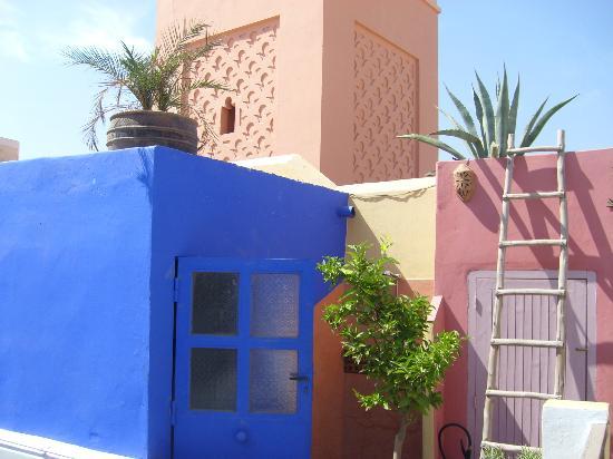 Riad Safa: Terrasse