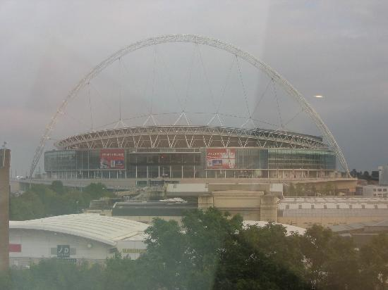 Premier Inn London Wembley Park Hotel: The view from our window.