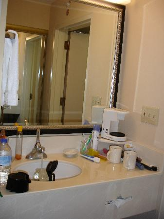 Courtyard by Marriott Miami Aventura Mall: sink area