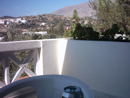 Agia Galini, Greece: Balkon