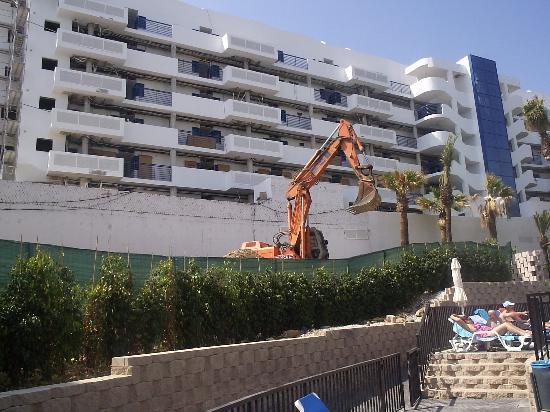 Hotel Los Patos Park: digger