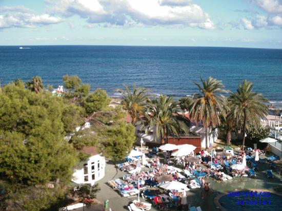Hotel Palia Sa Coma Playa : veiw from balcony