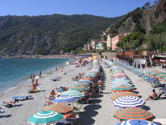 Hotel Margherita: The beautiful beach at Monterosso