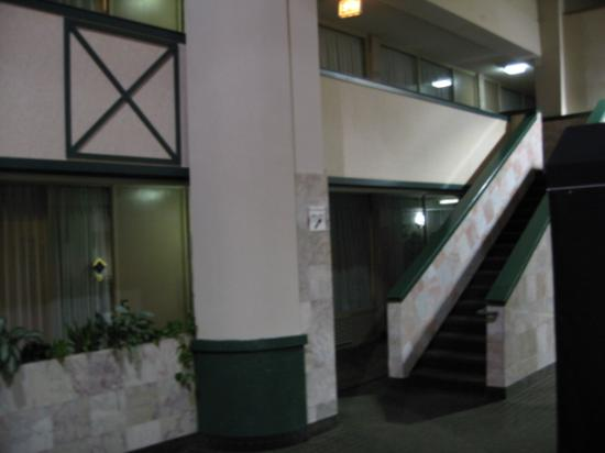 Holiday Inn Chicago North Shore (Skokie): Dark and Dingy Halls!