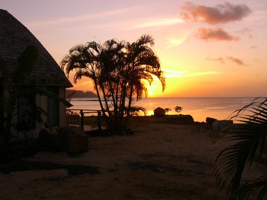 Le Lagoto Resort & Spa: Sunset from Bar at Le Lagoto
