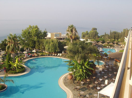 Atlantica Bay Hotel: view from a superior room