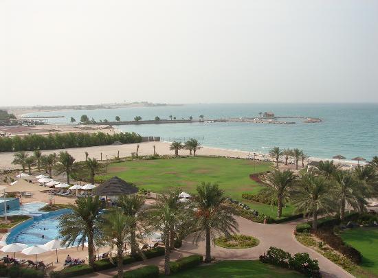 Danat Jebel Dhanna Resort: vue de la chambre