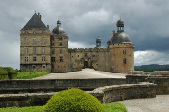 Dordogne – Périgord, France : Hautefort chateau 2
