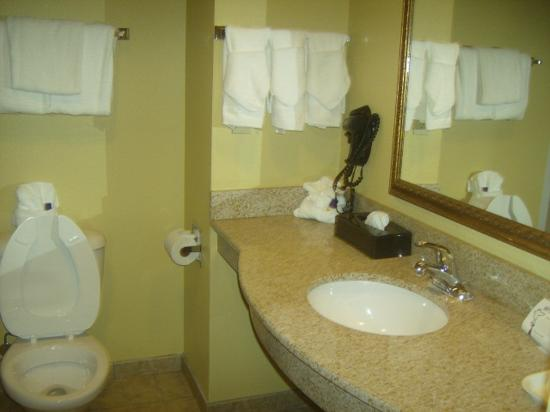 Sleep Inn & Suites Wildwood - The Villages: Bathroom