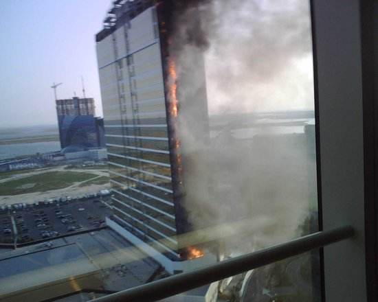 Borgata Hotel Casino & Spa: View from the 26th floor of the new Water Tower. Fire Alarm did not go off.