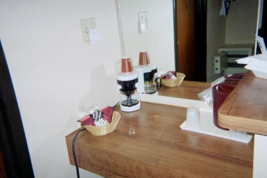 Comfort Inn Airport: separate dressing area
