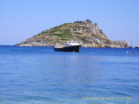 Kalamaki, Yunani: turtle Island