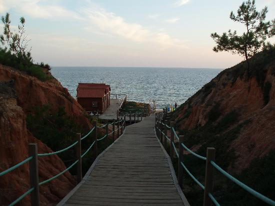 Alfamar Hotel: Beach walk