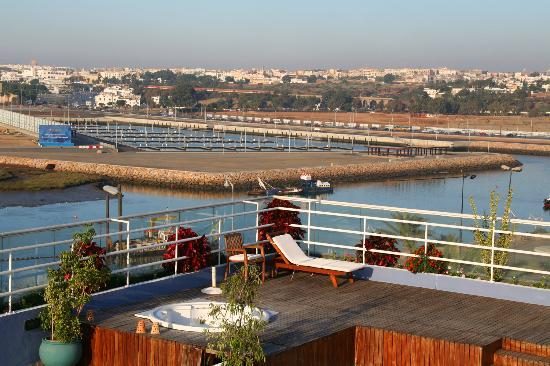 Golden Tulip Farah Rabat : sundeck 4ème étage