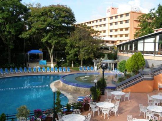 Hotel Spa Ixtapan: the pool