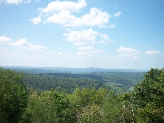 Sparta, TN: The view from Sunset Rock