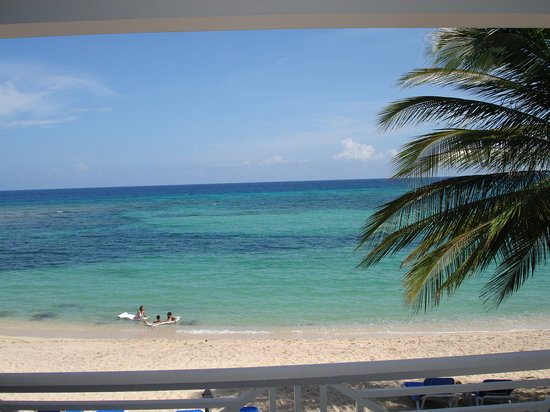 Rose Hall, Jamaica: View from our room