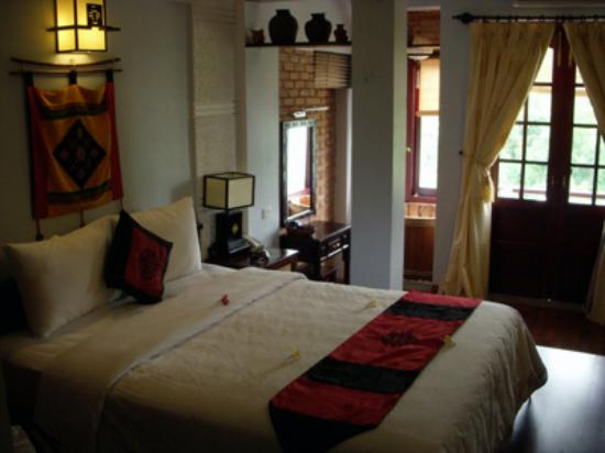 Thien Thanh Boutique Hotel: The deluxe room where I stayed