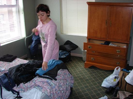 Hotel Alexander: un altro scatto all'interno della camera (mentre.. rifacevamo le valigie per la partenza)