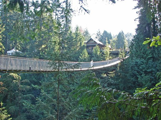 ‪فانكوفر, كندا: Capilano Suspension Bridge‬
