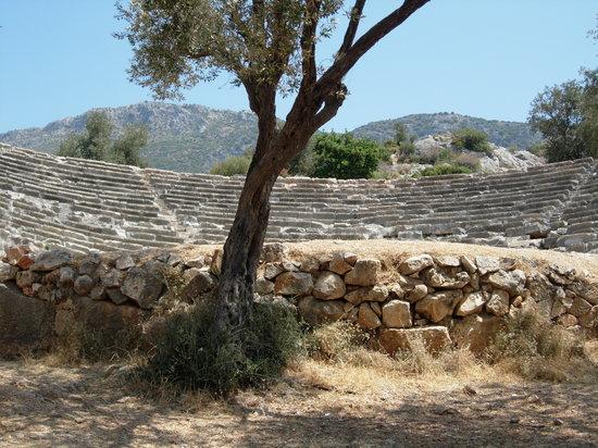 Amphithéâtre romain de Kas