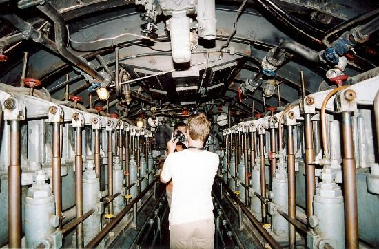 Inside the submarine used in Das Boot - Picture of Bavarian Film ...