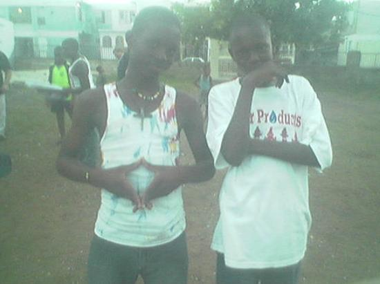 Trench Town children