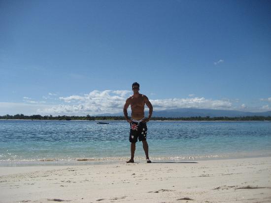 Good Heart Resort : Hotel beach